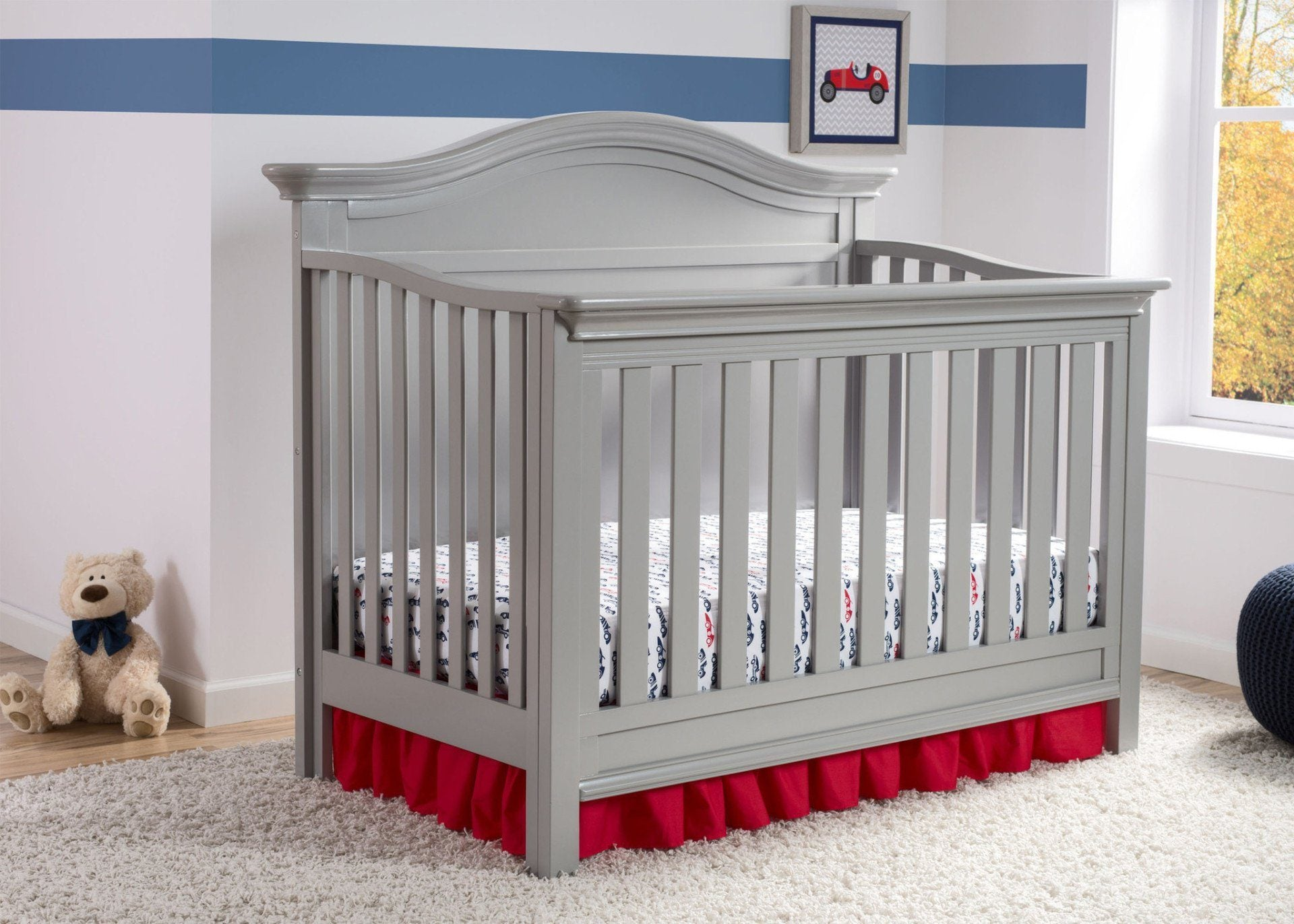 Serta Grey (026) Bethpage 4-in-1 Crib, Hangtag View a2a