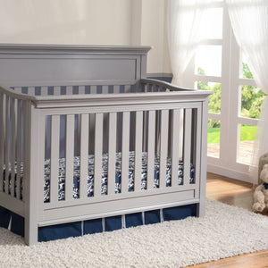Serta Grey (026) Fernwood 4-in-1 Crib, Hangtag View b2b