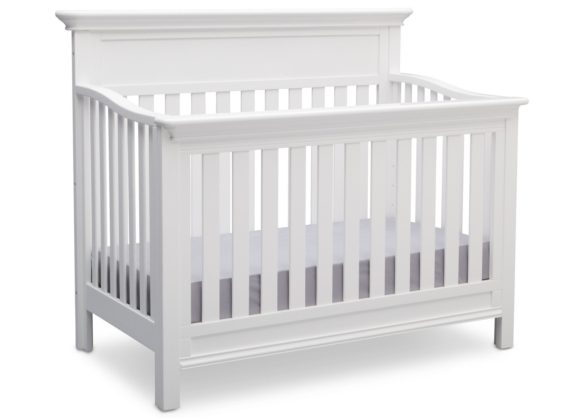 Serta Bianca (130) Fernwood 4-in-1 Crib, Side View with Crib Conversion a4a
