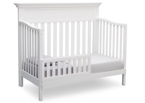 Serta Bianca (130) Fernwood 4-in-1 Crib, Side View with Toddler Bed Conversion a5a