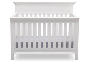 Serta Bianca (130) Fernwood 4-in-1 Crib, Front View with Crib Conversion a3a