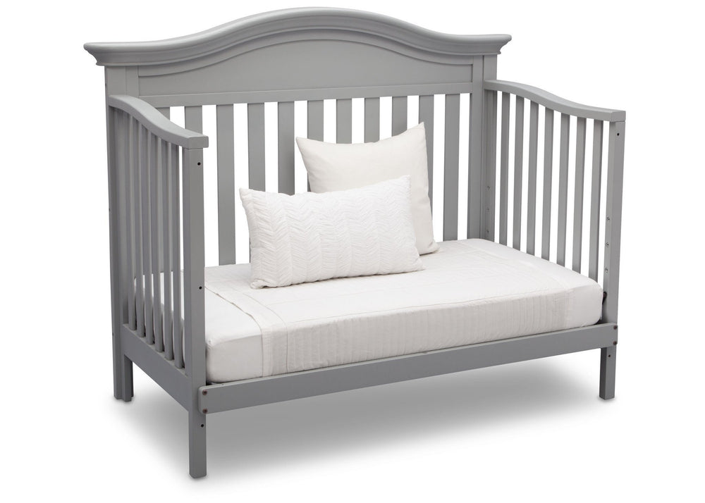 Serta Grey (026) Banbury 4-in-1 Convertible Crib, Day Bed View a4a