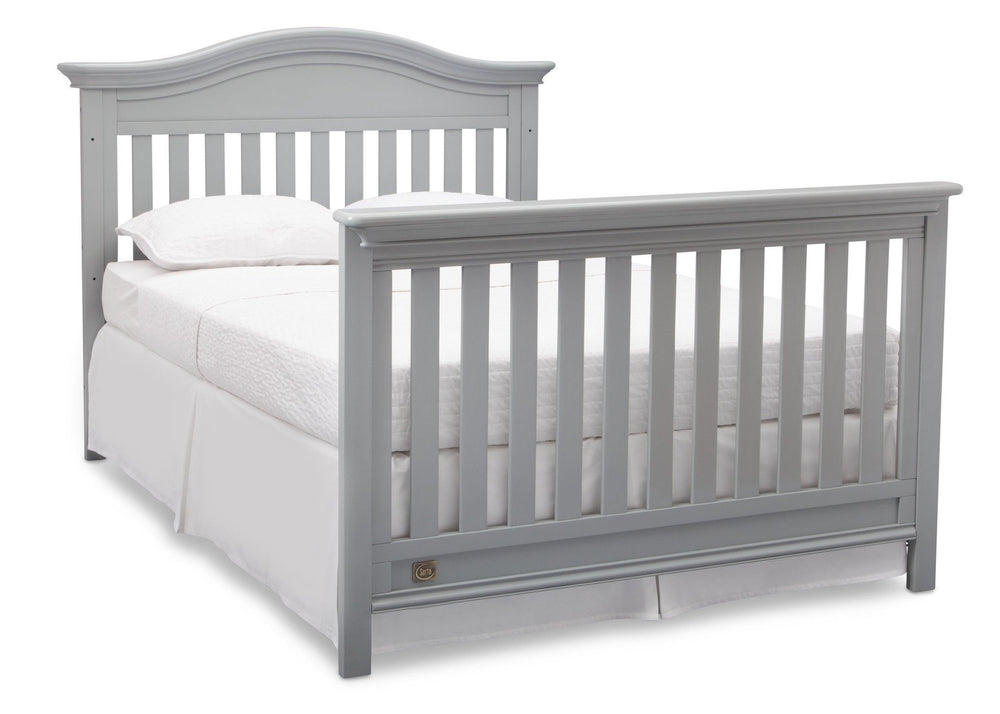 Serta Grey (026) Banbury 4-in-1 Convertible Crib, Full Bed View a5a