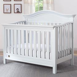 Banbury 4-in-1 Crib (Bianca) - bundle