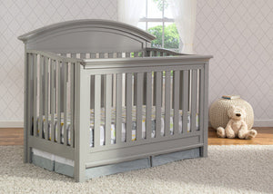 Serta Grey (026) Aberdeen 4-in-1 Crib, Crib Conversion in Setting 2 a2a
