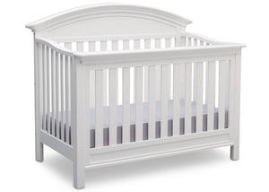 Serta Bianca (130) Aberdeen 4-in-1 Crib, Side View with Crib Conversion b4b