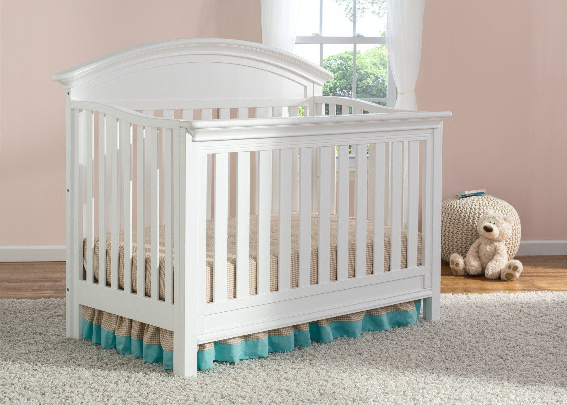 Serta Bianca (130) Aberdeen 4-in-1 Crib, Crib Conversion in Setting 2 b2b