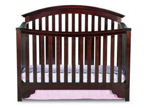 Delta Children Black Cherry Espresso (607) Sonoma 4-in-1 Crib, Crib Conversion a1a