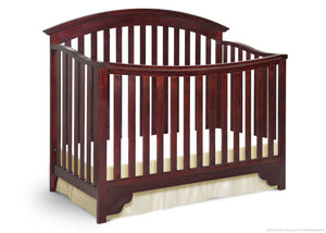 Delta Children Black Cherry Espresso (607) Sonoma 4-in-1 Crib, Crib Conversion