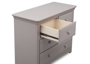Serta Grey (026) Park Ridge 4 Drawer Dresser (702640), Detail, a4a