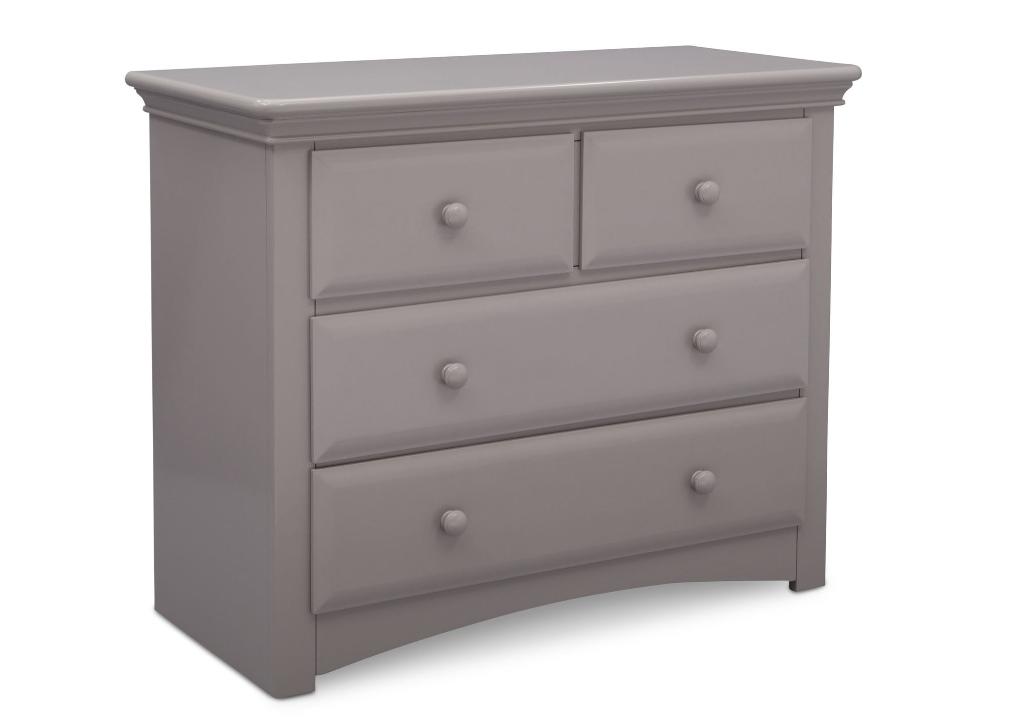 Serta Grey (026) Park Ridge 4 Drawer Dresser (702640), Right Angle, a3a