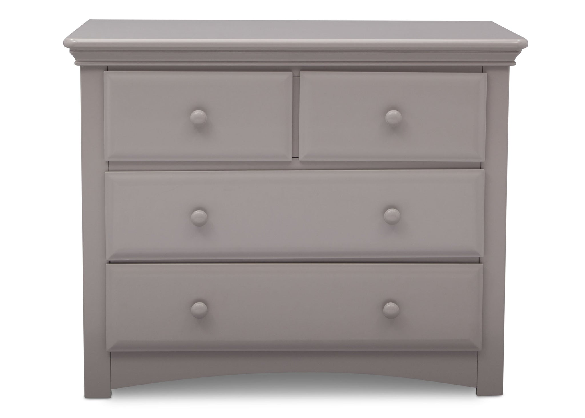 Serta Grey (026) Park Ridge 4 Drawer Dresser (702640), Straight, a2a