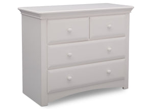 Serta Bianca (130) Park Ridge 4 Drawer Dresser (702640), Right Angle, b3b