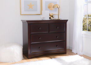 Serta Dark Chocolate (207) Park Ridge 4 Drawer Dresser (702640), Room, c1c