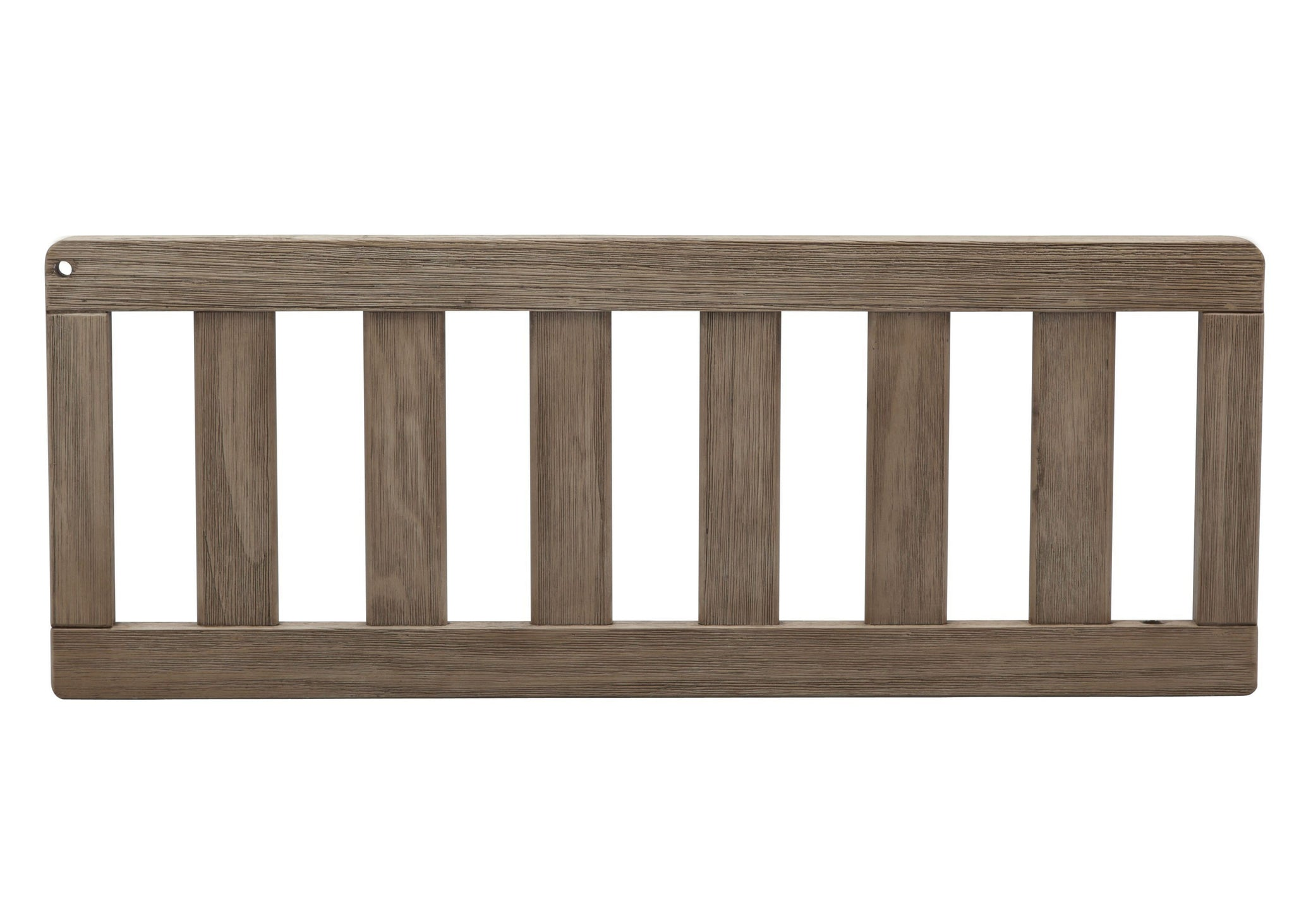 Serta Daybed/Toddler Guardrail Kit (703725) Rustic Whitewash (112ST) Front View a2a