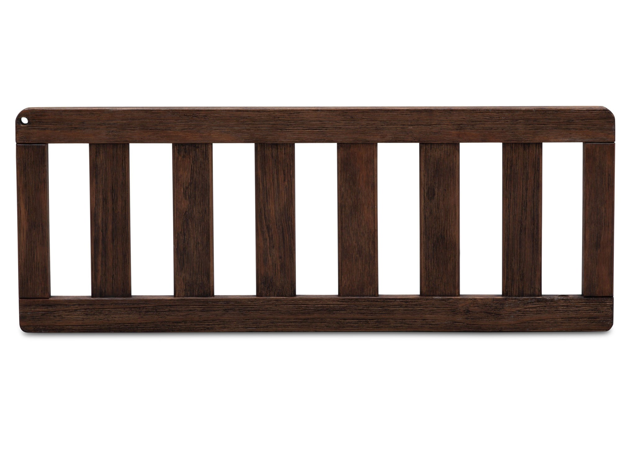 Serta Daybed/Toddler Guardrail Kit (703725) Rustic Oak (229ST) Front View c2c