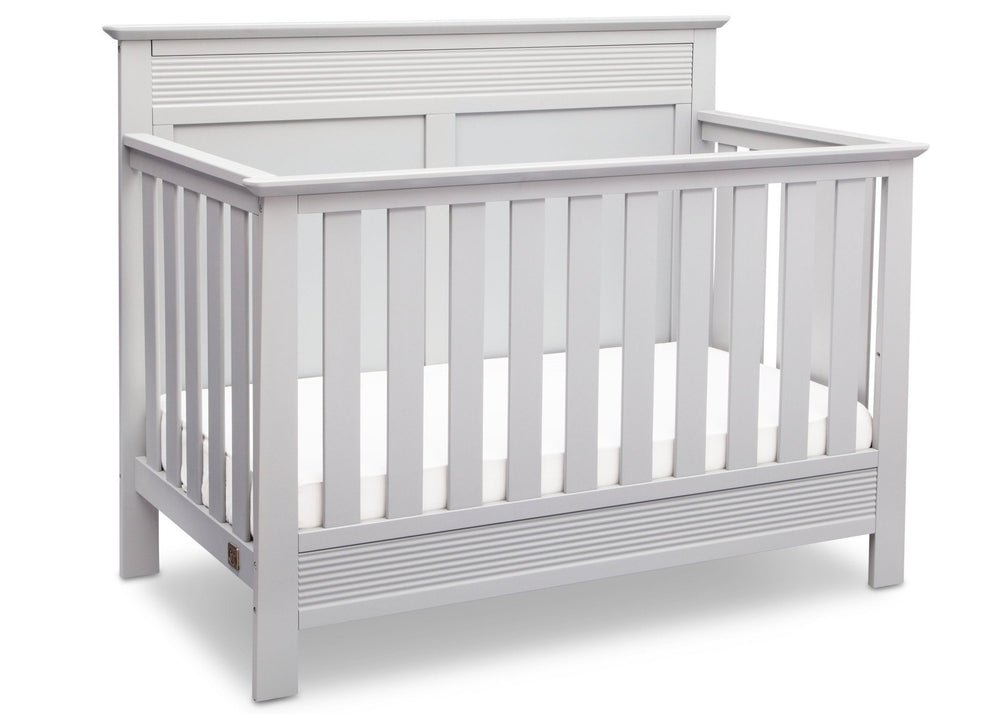 Serta Bianca (130) Fall River 4-in-1 Convertible Crib, Right Crib View b2b