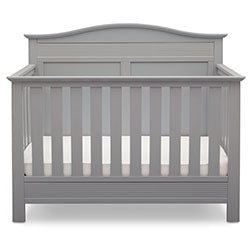 Barrett 4-in-1 Crib (Grey) - bundle