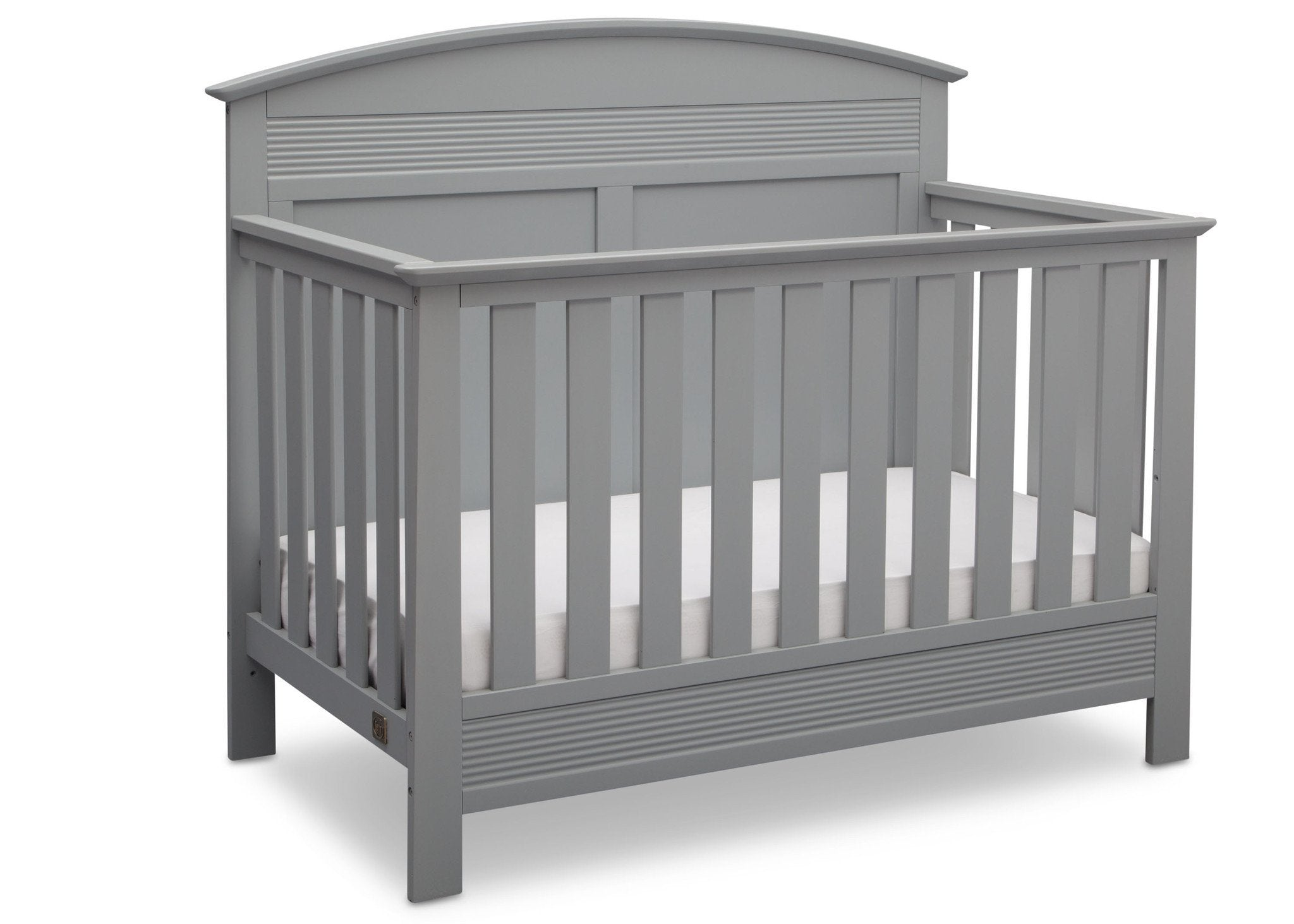 Serta Grey (026) Ashland 4-in-1 Convertible Crib, Right Crib View a2a