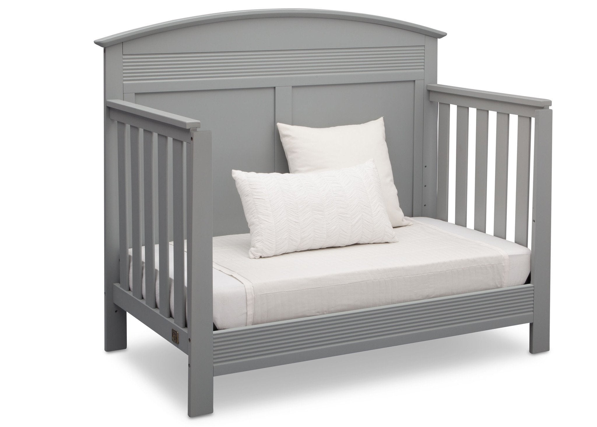 Serta Grey (026) Ashland 4-in-1 Convertible Crib, Right Daybed View a4a