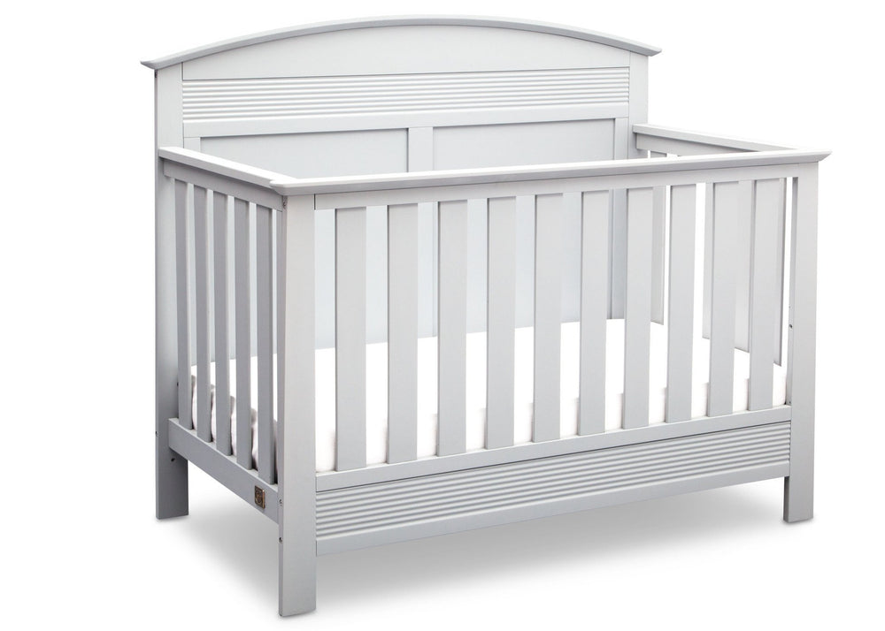 Serta Bianca (130) Ashland 4-in-1 Convertible Crib, Right Crib View b2b