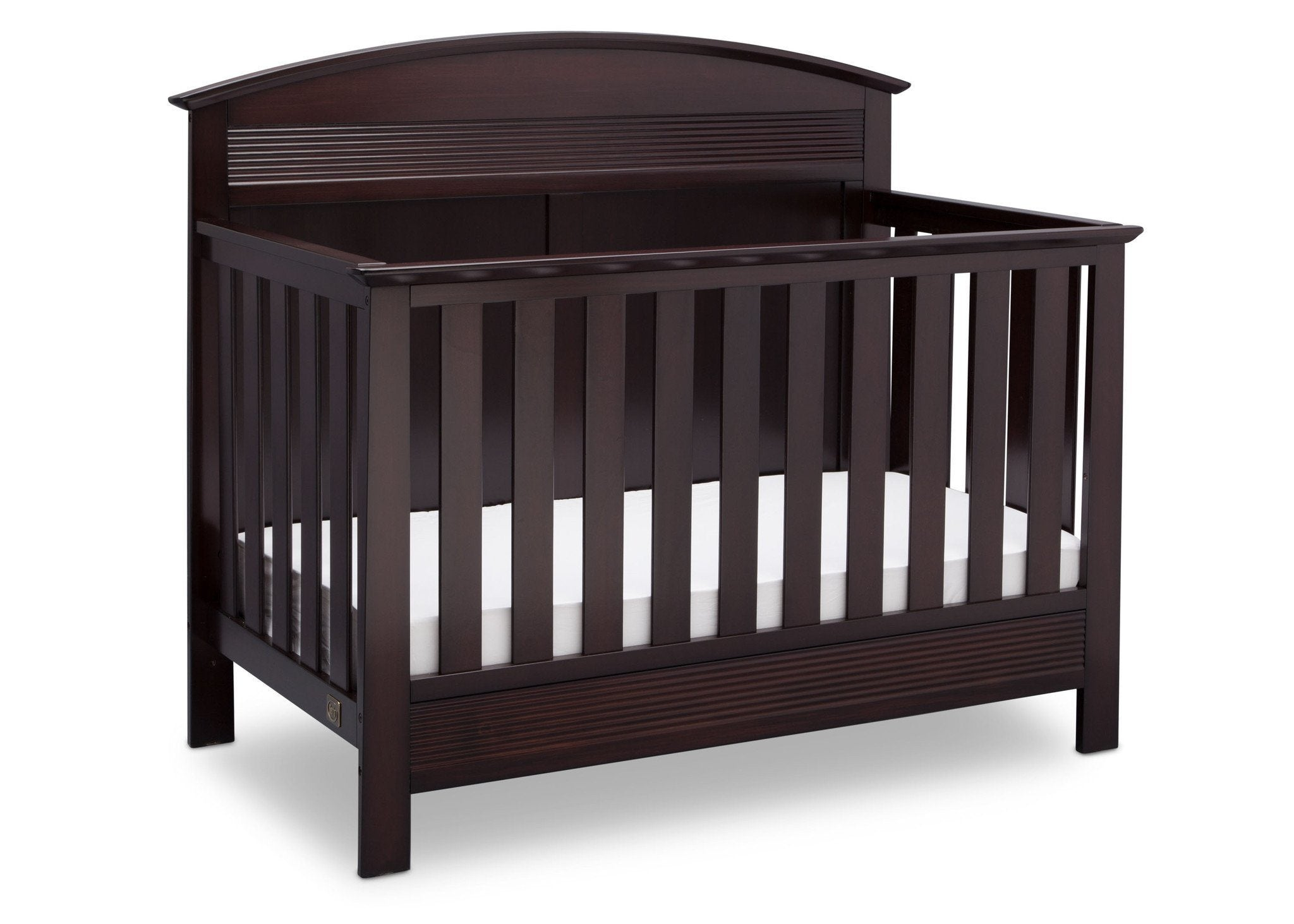 Serta Dark Chocolate (207) Ashland 4-in-1 Convertible Crib, Right Crib View c2c