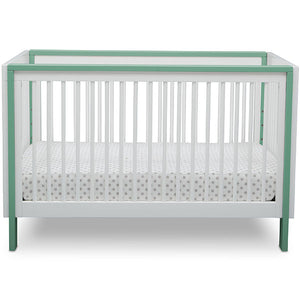 Fremont 3-in-1 Crib (Bianca with Aqua)