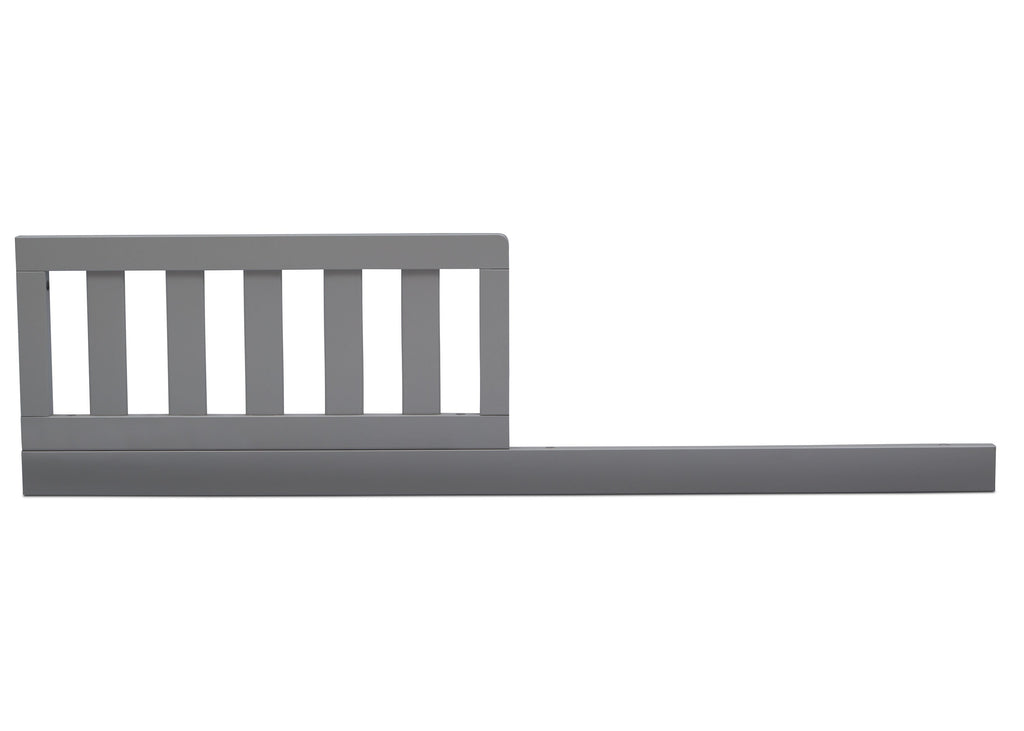 Serta Daybed/Toddler Guardrail Kit (707726) Grey (026) Front a1a  for Mid-Century Modern Lifestyle 4-in-1 Convertible Crib