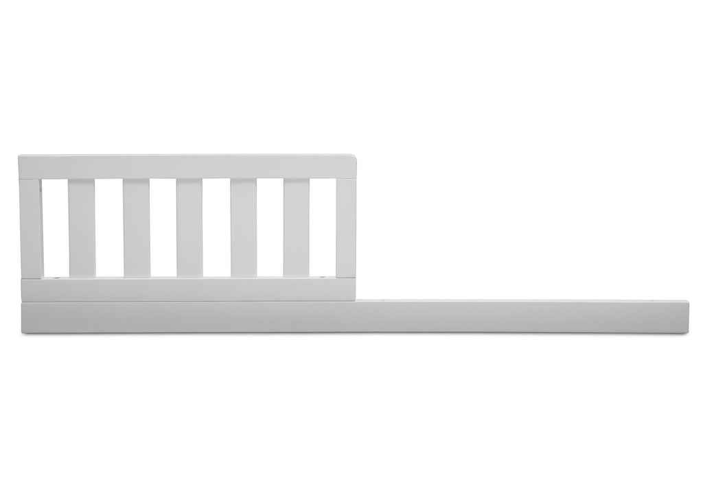 Serta Daybed/Toddler Guardrail Kit (707726) Bianca (130) Front b1b  for Mid-Century Modern Lifestyle 4-in-1 Convertible Crib