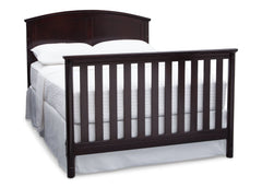 Delta Children Dark Chocolate (207) Somerset 4-in-1 Crib, Full-Size Bed Conversion b7b