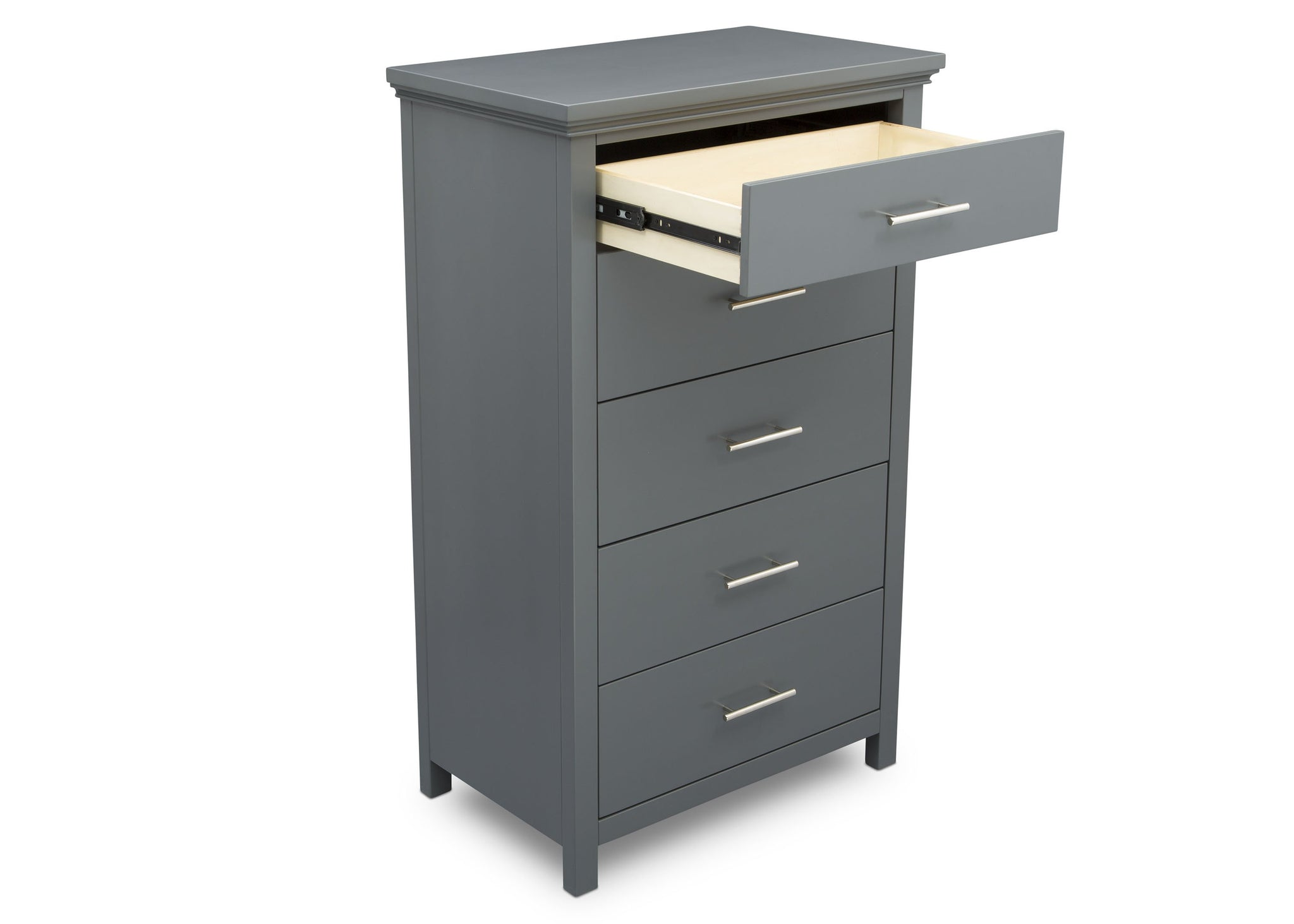 Delta Children Charcoal Grey (029) Avery 5 Drawer Chest (708050), Detail, a4a