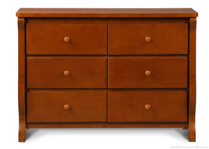Delta Children Spiced Cinnamon (209) Canton / Eclipse Dresser Front View e1e