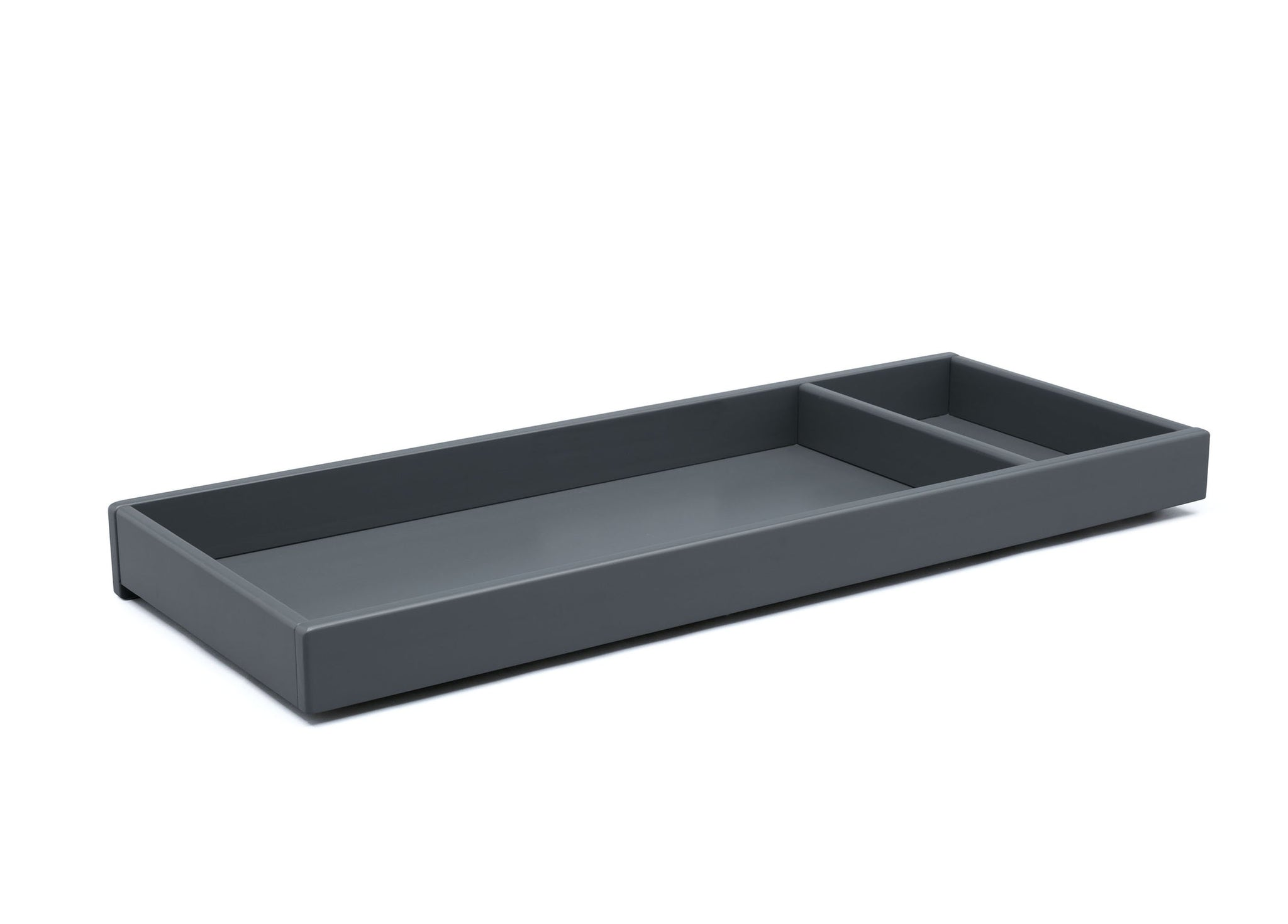 Delta Children Charcoal Grey (029) Avery Changing Tray (708710), Sideview, a1a