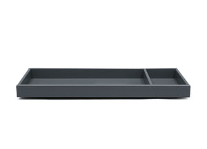 Delta Children Charcoal Grey (029) Avery Changing Tray (708710), Front View, a2a