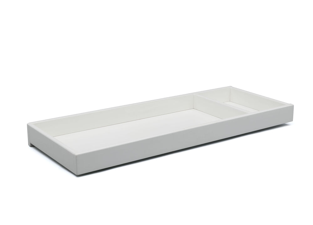 Delta Children Bianca White (130) Avery Changing Tray (708710), Sideview, b1b