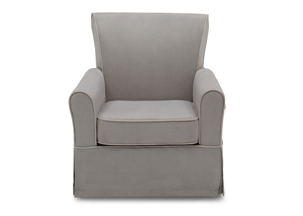 Delta Children Dove Grey with Soft Grey Welt (036) Benbridge Glider, front view,f2f