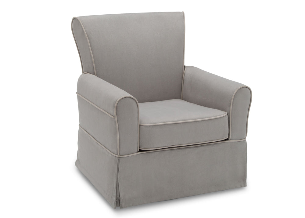 Delta Children Dove Grey with Soft Grey Welt (036) Benbridge Glider, right size view,f2f