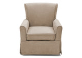 Delta Children Beige (276) Benbridge Glider, front view f2f