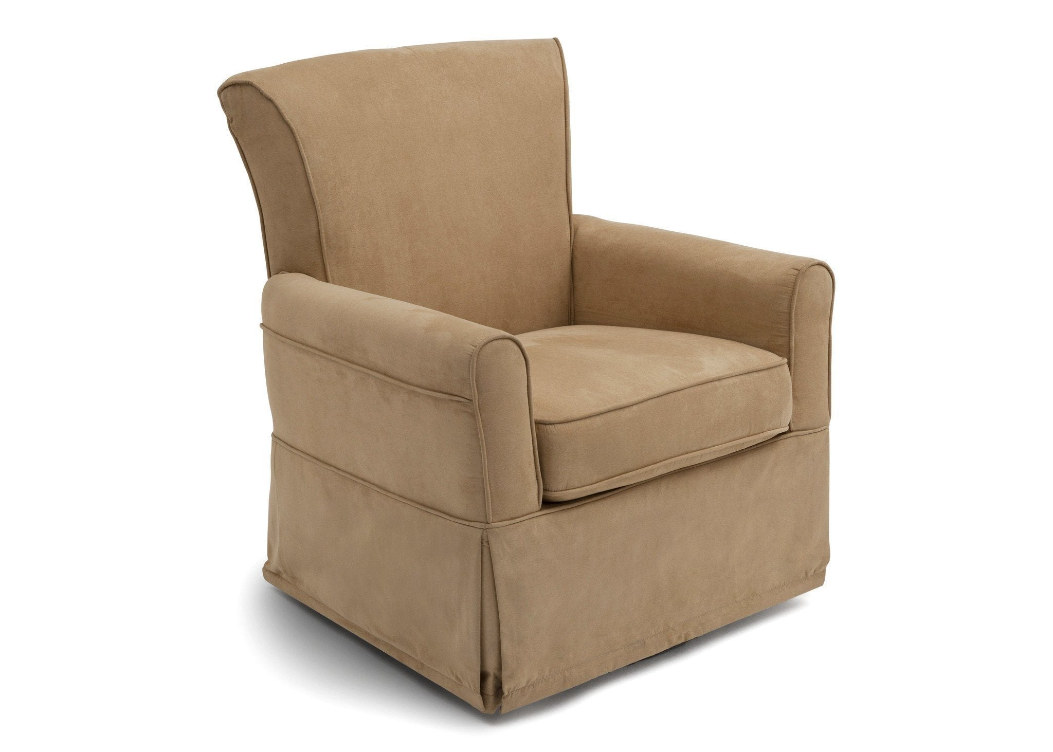 Delta Children Pebble Brown (920) Benton Glider Side View a1a