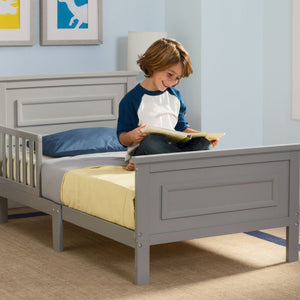 Delta Children Grey (026) Next Steps Toddler Bed, in Setting 2 a1a