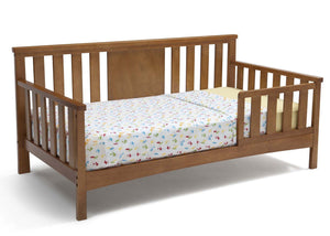 Delta Children Warm Honey (251) Solutions Toddler Daybed Side View b3b