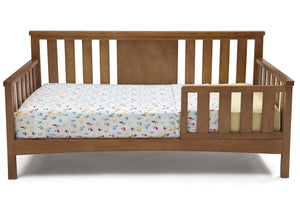 Delta Children Warm Honey (251) Solutions Toddler Daybed Front View b2b