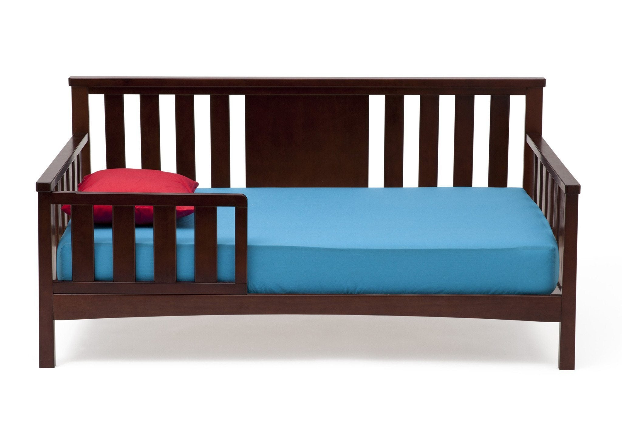 Delta Children Black Cherry Espresso (607) Solutions Toddler Daybed Front View c1c