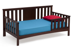 Delta Children Black Cherry Espresso (607) Solutions Toddler Daybed Side View c2c