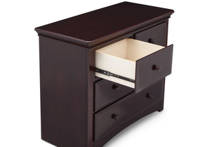 Serta Dark Chocolate (207) Park Ridge 4 Drawer Dresser (702640), Detail, c4c