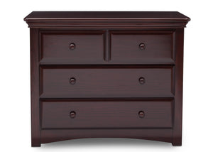 Serta Dark Chocolate (207) Park Ridge 4 Drawer Dresser (702640), Straight, c2c