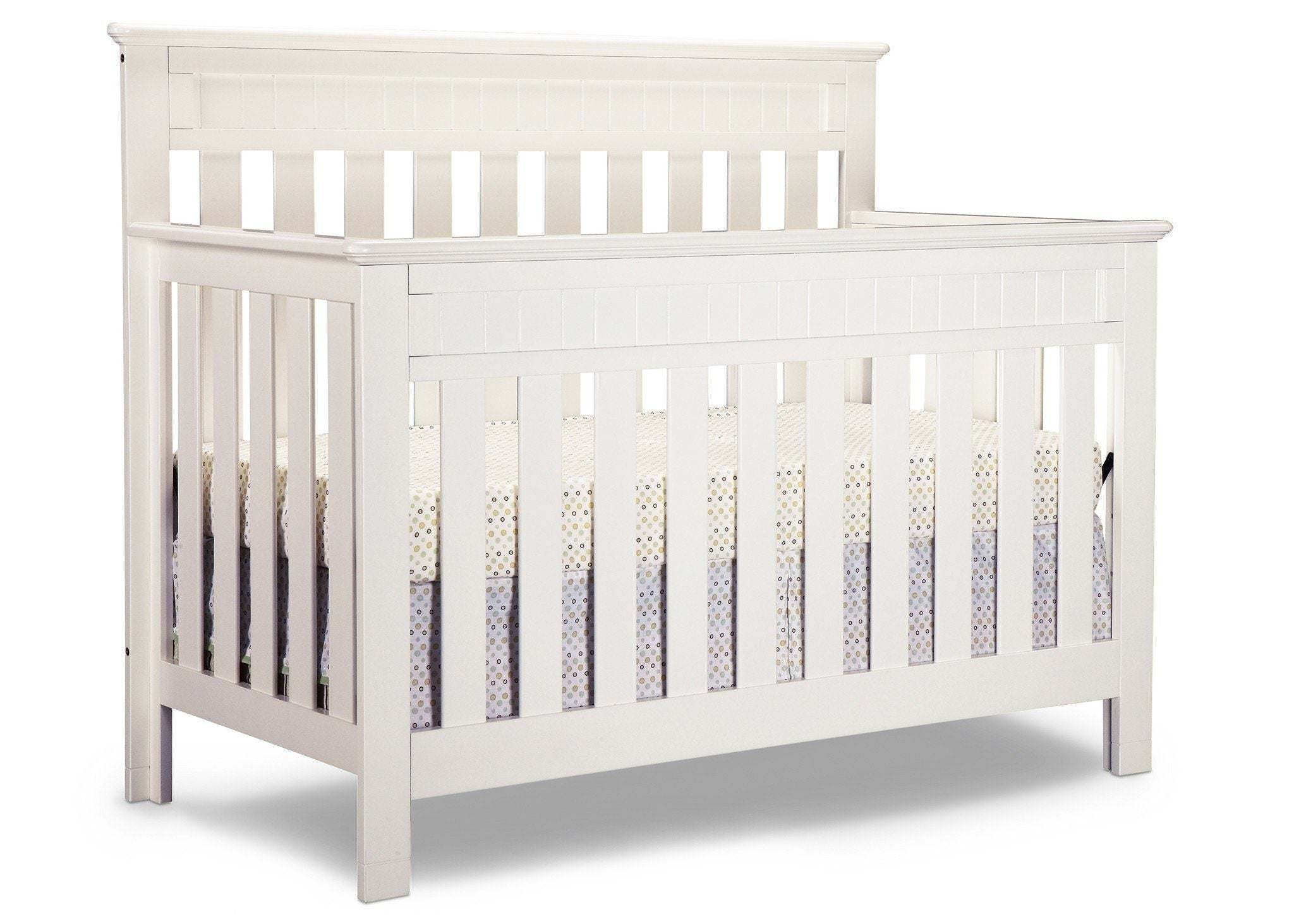 bedding cherry white cribs carousel designs crib baby back blossom large solid