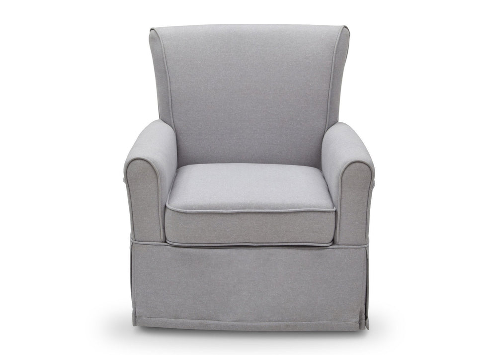 Delta Children Heather Grey (053) Epic Glider in Nursery a2a