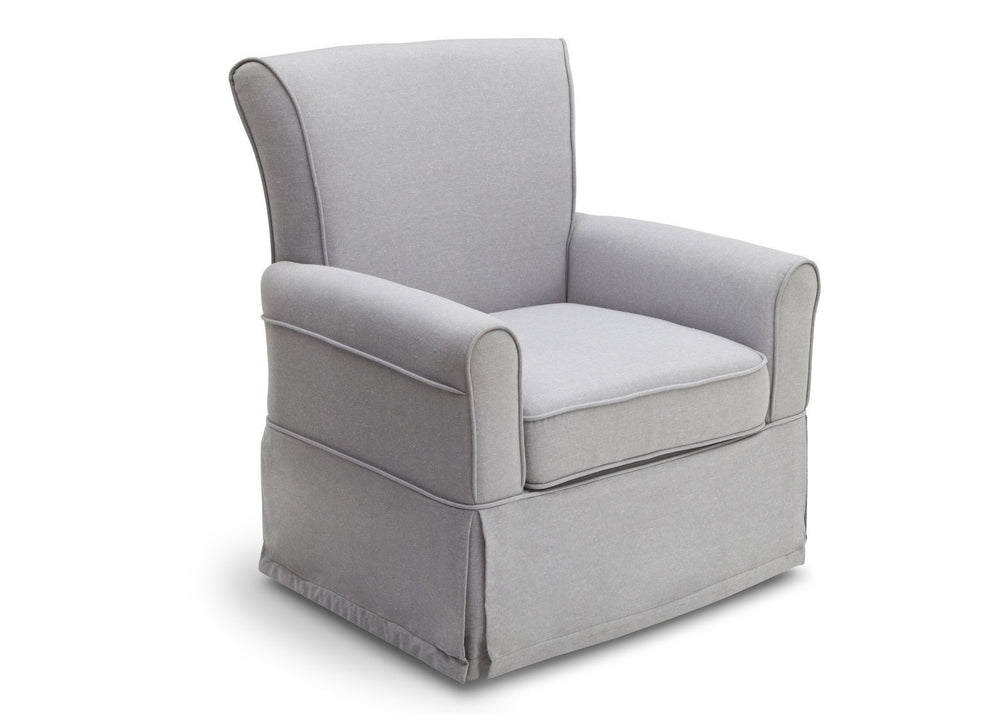 Delta Children Heather Grey (053) Epic Glider in Nursery a3a