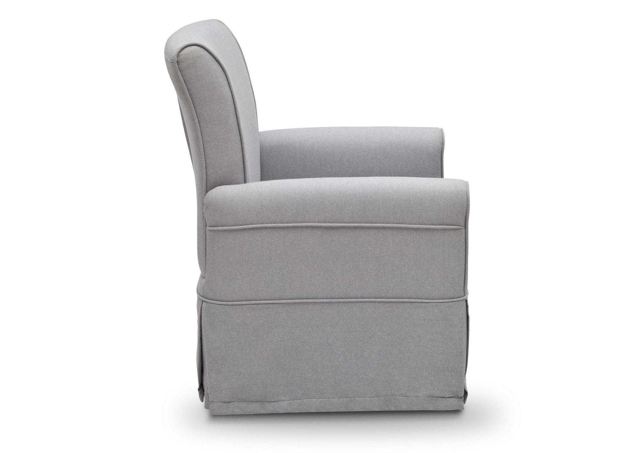 Delta Children Sand Heather Grey (053) Epic Glider, Full Side View a4a